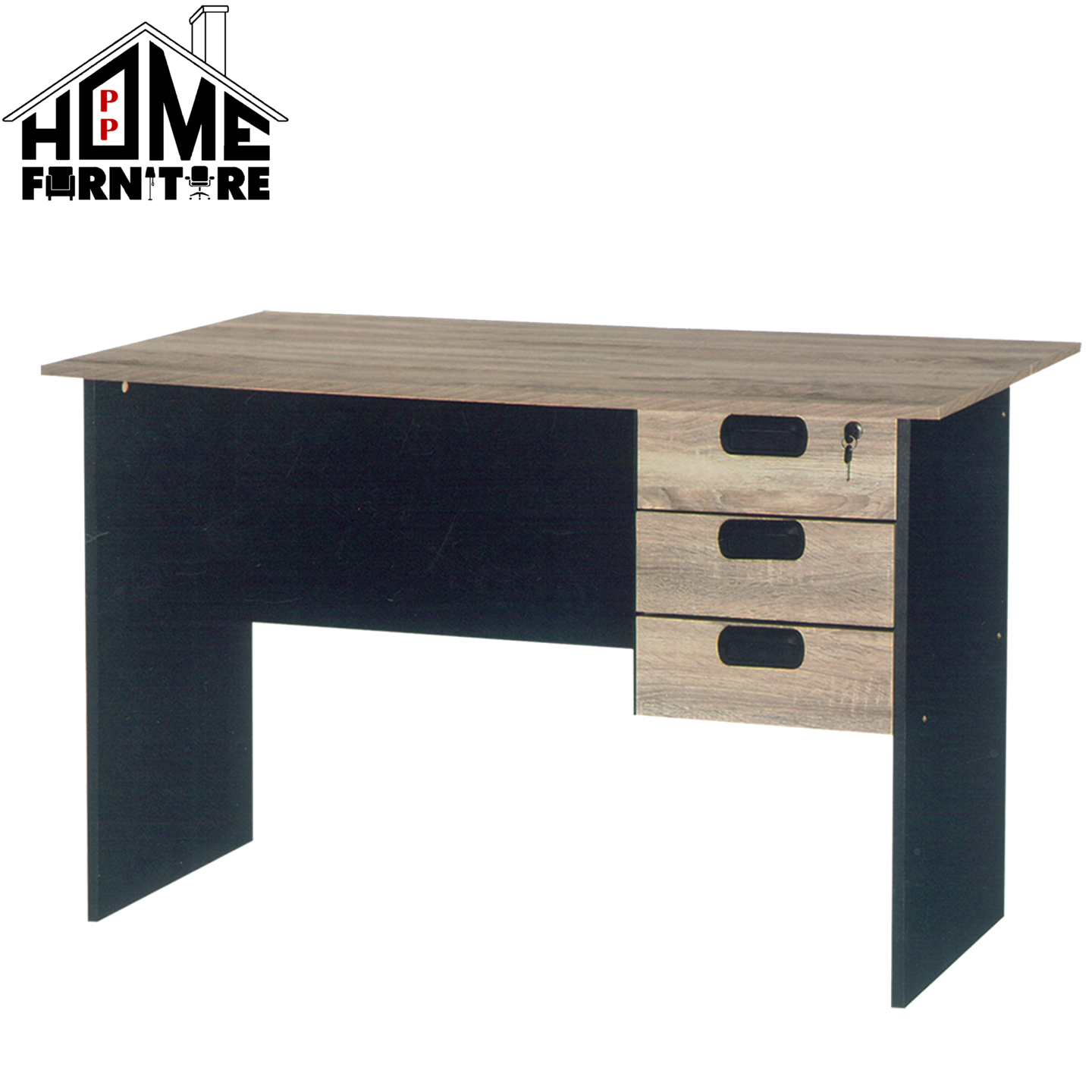 PP HOME Study Table with drawer locker/Writing table/Working table /PC table/ Student table/Home office table/Multipurpose table/Desk/Computer table/Destop/laptop/Meja belajar/Meja tulis/Meja kerja/komputer电脑桌/书桌/工作桌/读书桌/办公桌WT2828-LO
