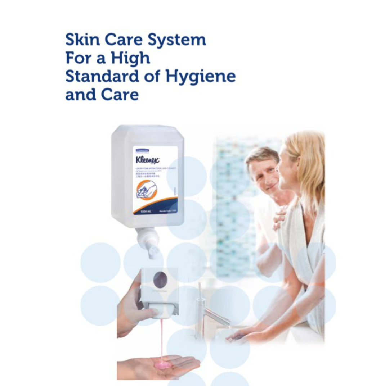 SCOTT 12552 PRO Foam Skin Cleanser with Moisturisers 1000ml - Pink / Skincare Cleanser