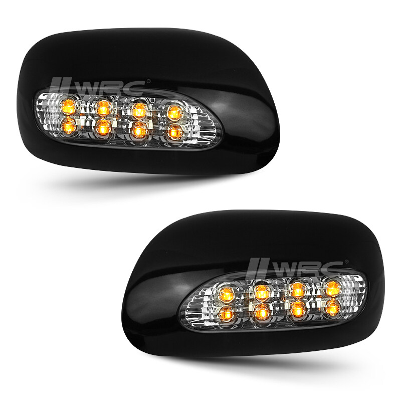 Toyota Altis (02-07) / Avanza (03-11) / Camry (02-05) / Vios NCP42 (03-05) Side Mirror Cover with LED (2pcs/set)