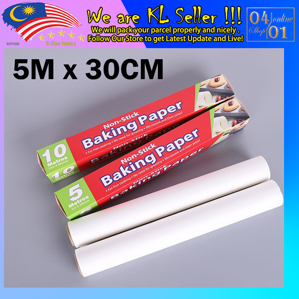 Baking paper double-sided silicone oil Paper [For Bakery]