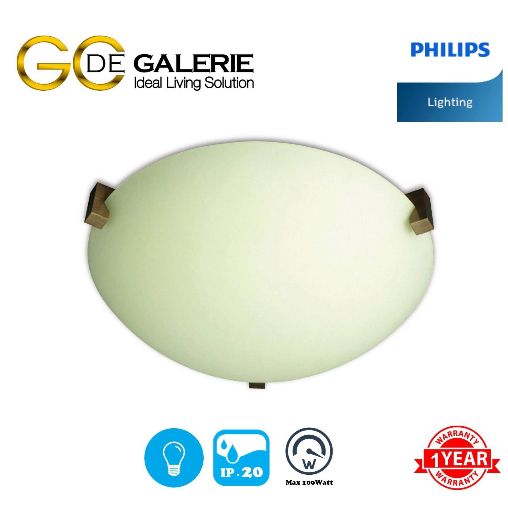 CEILING LIGHT PHILIPS 30136/06 QCG301 BR 1X100W