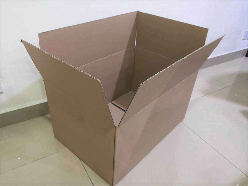 10pcs Plain Carton Boxes (L600 X W400 X H322mm)
