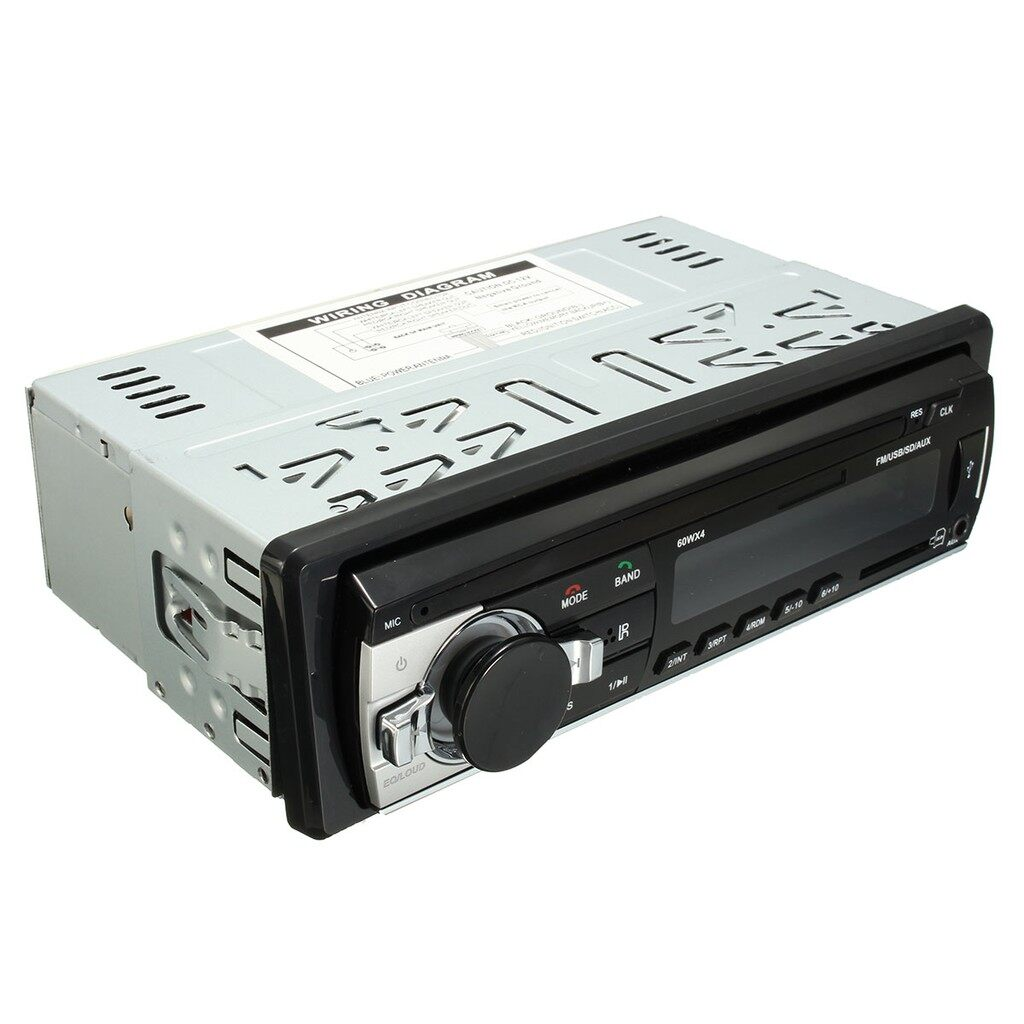 Pendrives - Car in Dash 1 Din BLUETOOTH Stereo Radio USB/SD IPOD MP3 Player AUX FM 12V - Storage & Hard Drives