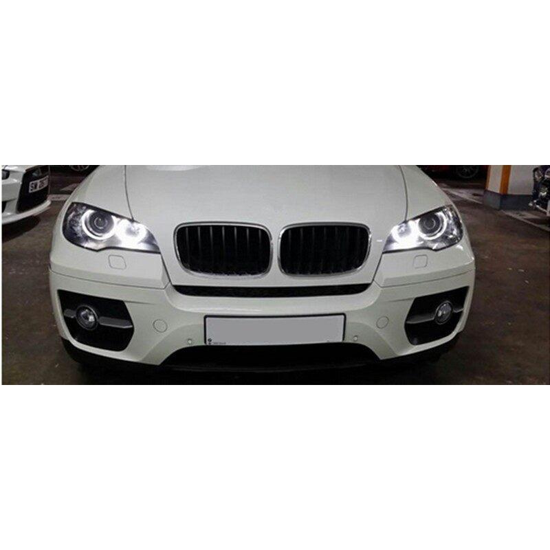 Car Lights - Xenon Headlight 3528 LED Angel Eyes Halo Rings Kit For BMW E60 E39 E90 E46 E38 - Replacement Parts