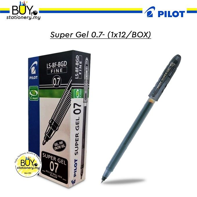 Pilot Super Gel 0.7 - (1X12/BOX)