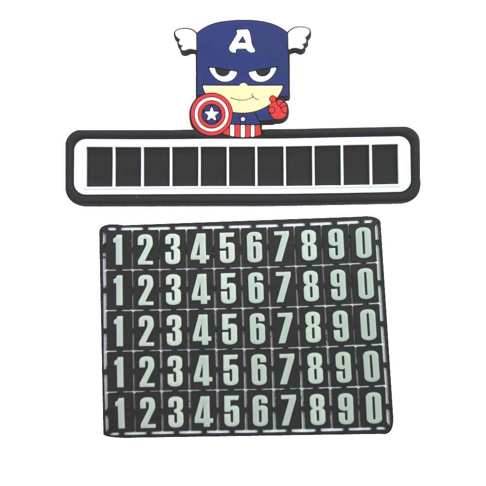Temporary Parking Stop Sign Telephone Number Plate Crafts