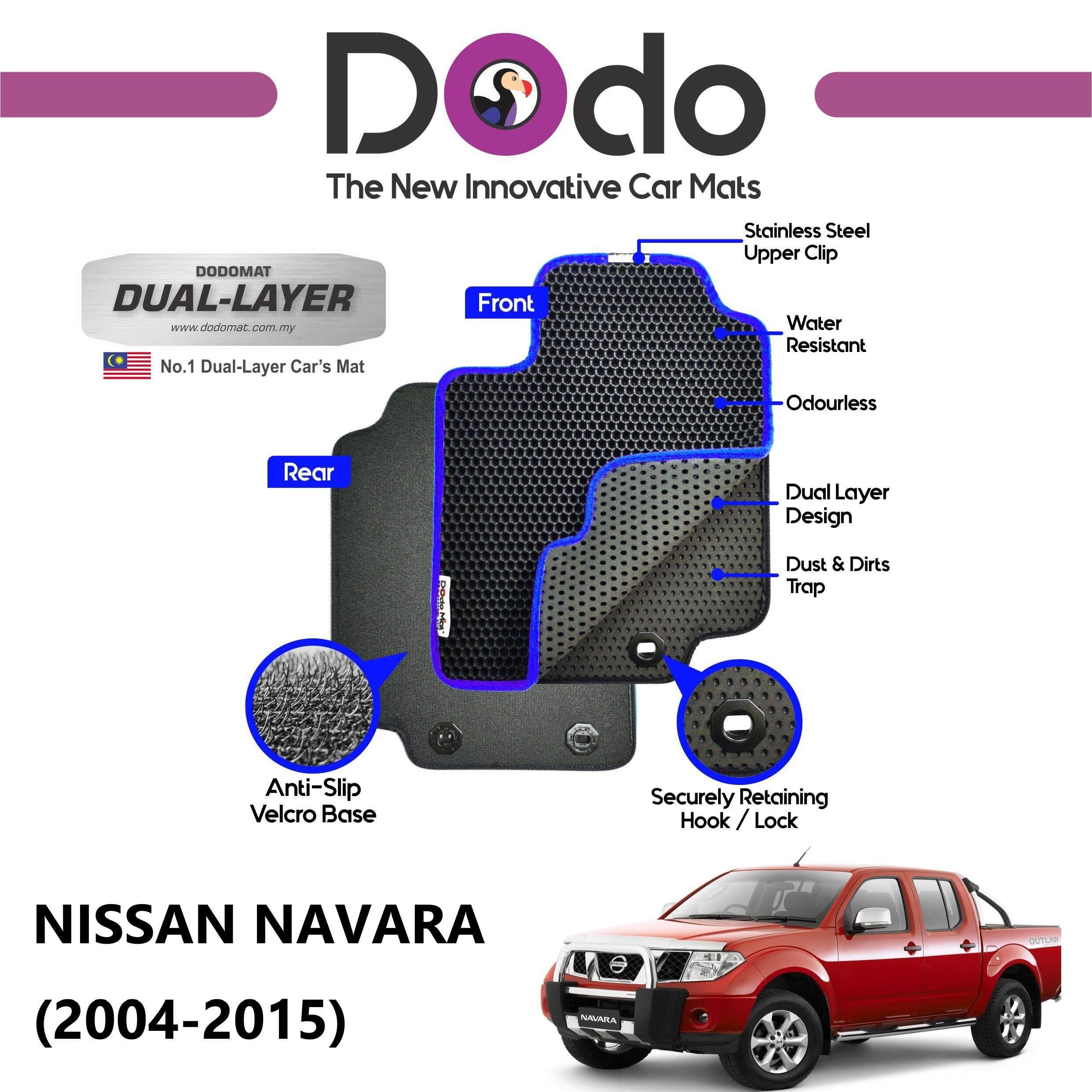 DODOMAT Car Mat NISSAN NAVARA (2004-2015) Model BASIC