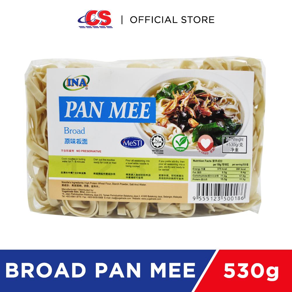 INA ORI Pan Mee (Broad) 530g