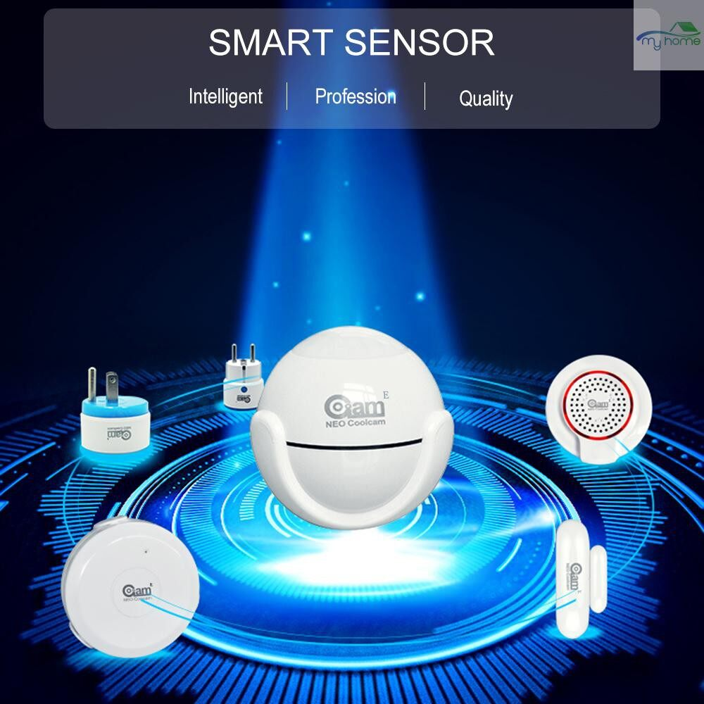 Sensors & Alarms - NEO Coolcam Z-wave Intelligent WIRELESS Siren Alarm Sensor Compatible with Z-wave 300 Series and - #