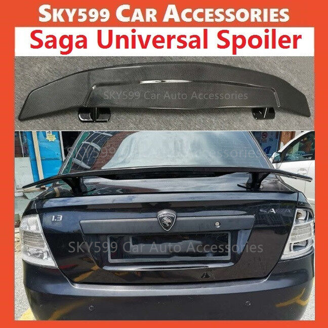 Proton Saga BLM FLX FL Universal Spoiler Carbon (NO NEED DRILL)
