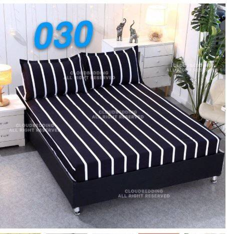 Queen Size /King /Single Fitted Bedsheet / Cadar( 10 Colours ++)