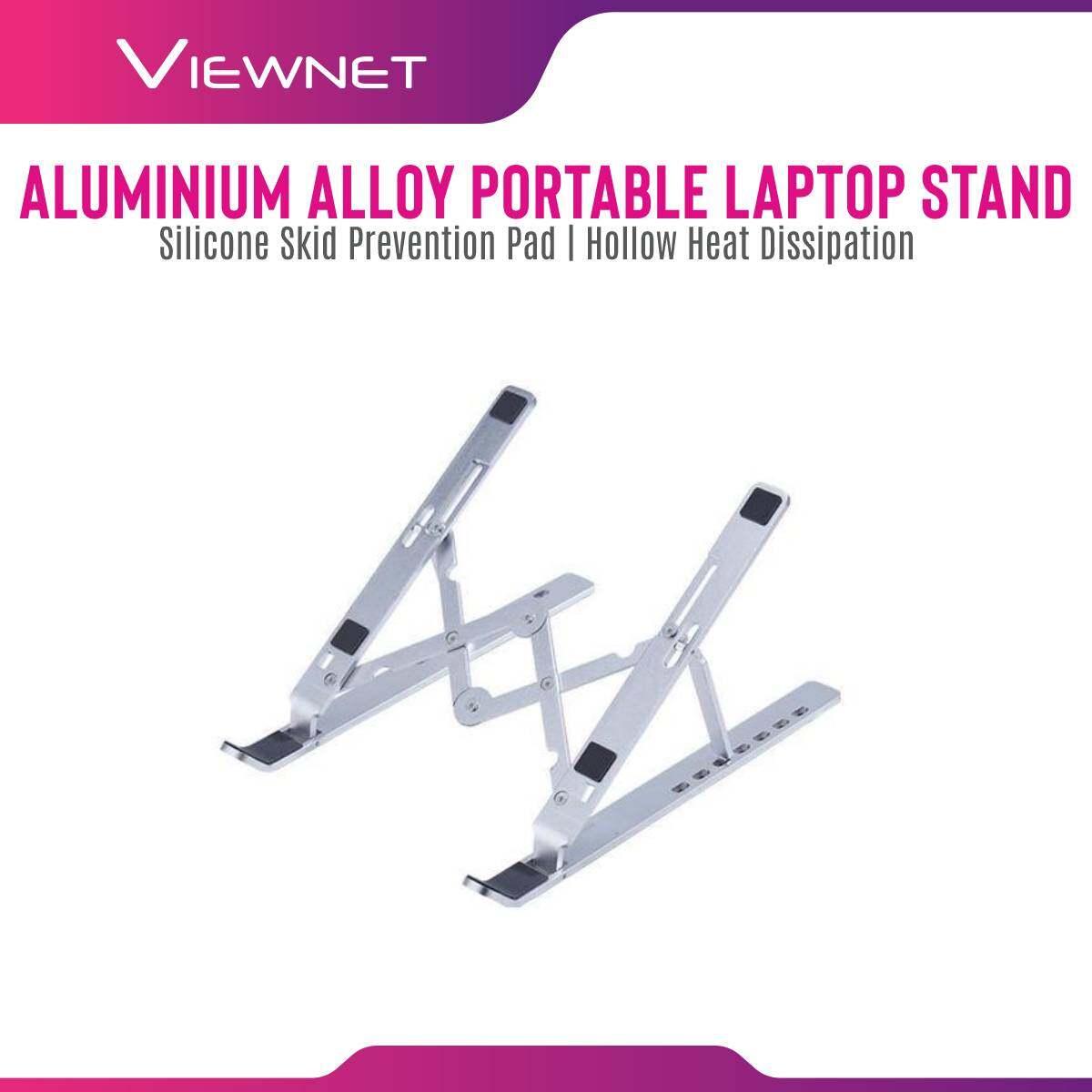 Aluminium Alloy Portable Laptop Stand Adjustable Foldable Laptop Holder Non-Slip Notebook Stand