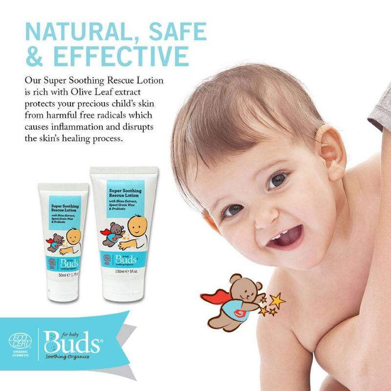 Buds: Soothing Organics Super Soothing Rescue Lotion 150ml
