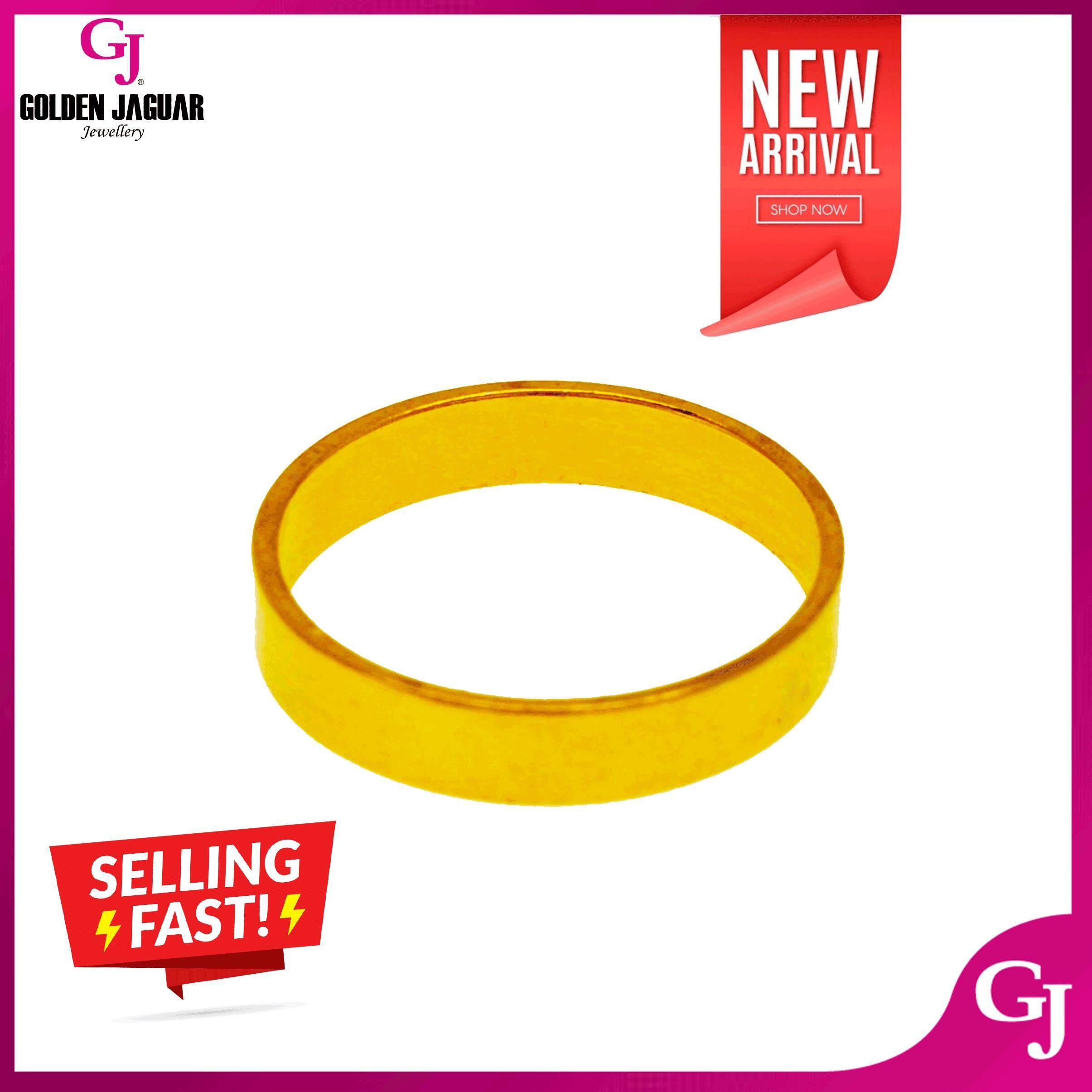 NEW GJ Jewellery Emas Korea 24k Ring - Cincin Halus (88611)
