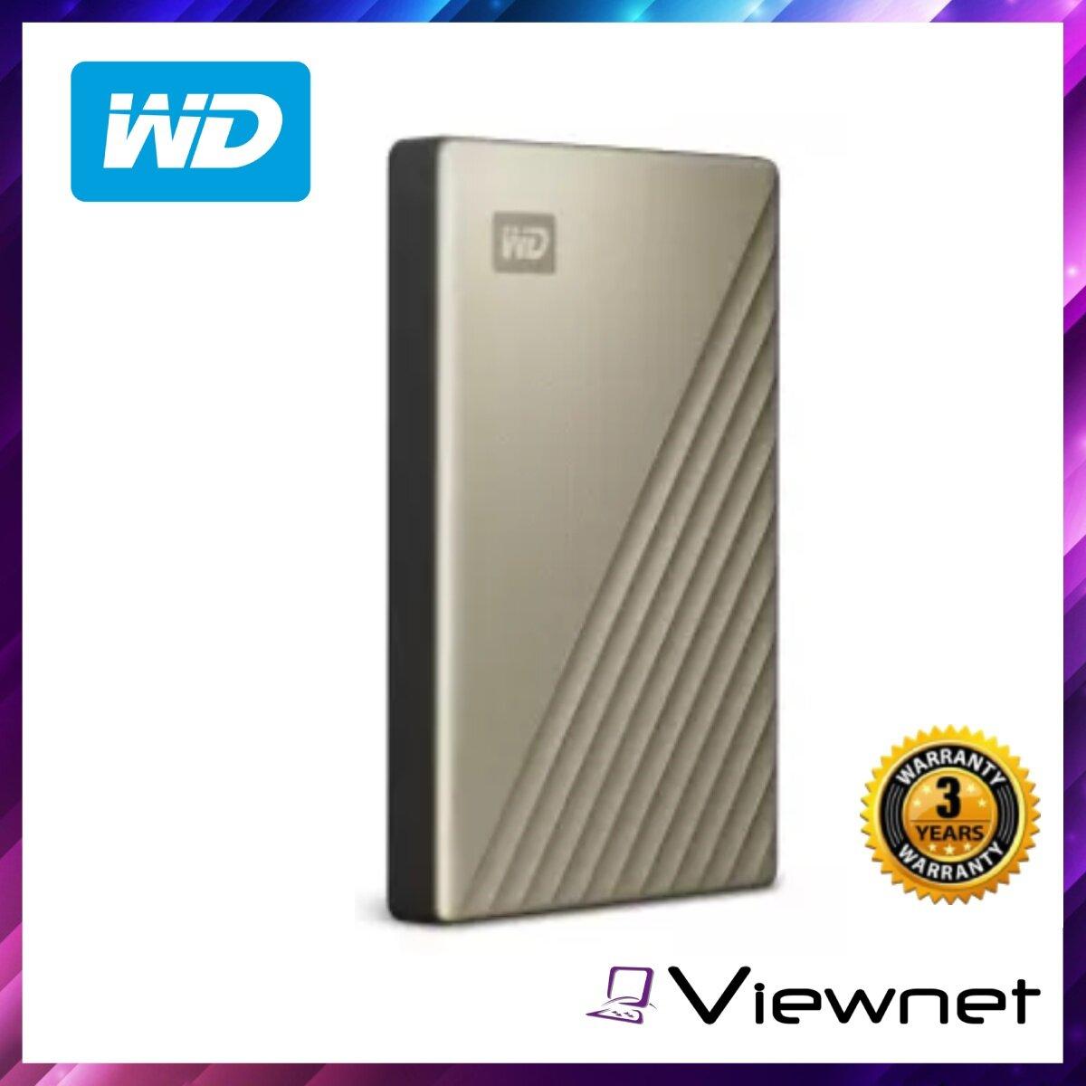 WD 2.5  External Hard Drives USB3.0 Type C My Passport Ultra 4TB (WDBFTM0040BGD) Gold, 3.0USB, 4TB