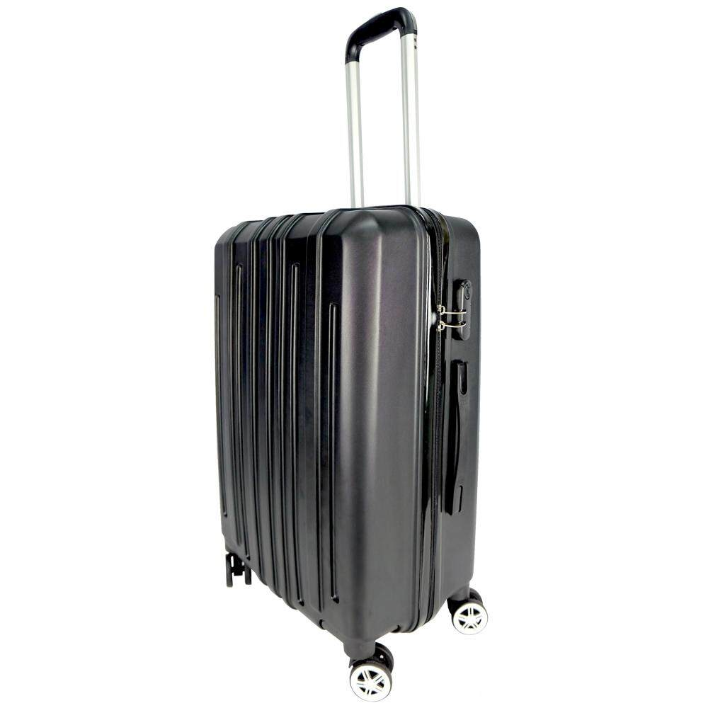 Poly-Pac WA9922 24inch ABS Hard Case Luggage- Black