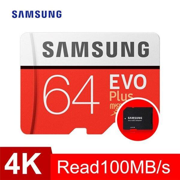 Bảng giá Thẻ Nhớ Samsung Micro SD 64GB 128GB 256GB 512GB Evo Plus Class10 Thẻ Sim TF Chống Nước Cho Điện Thoại Thông Minh Camera Phong Vũ
