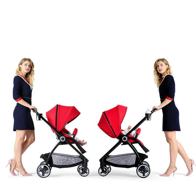 High Class Baby Throne Stroller Joggers Prams Two Way Facing Stroller Reversible & Convertible