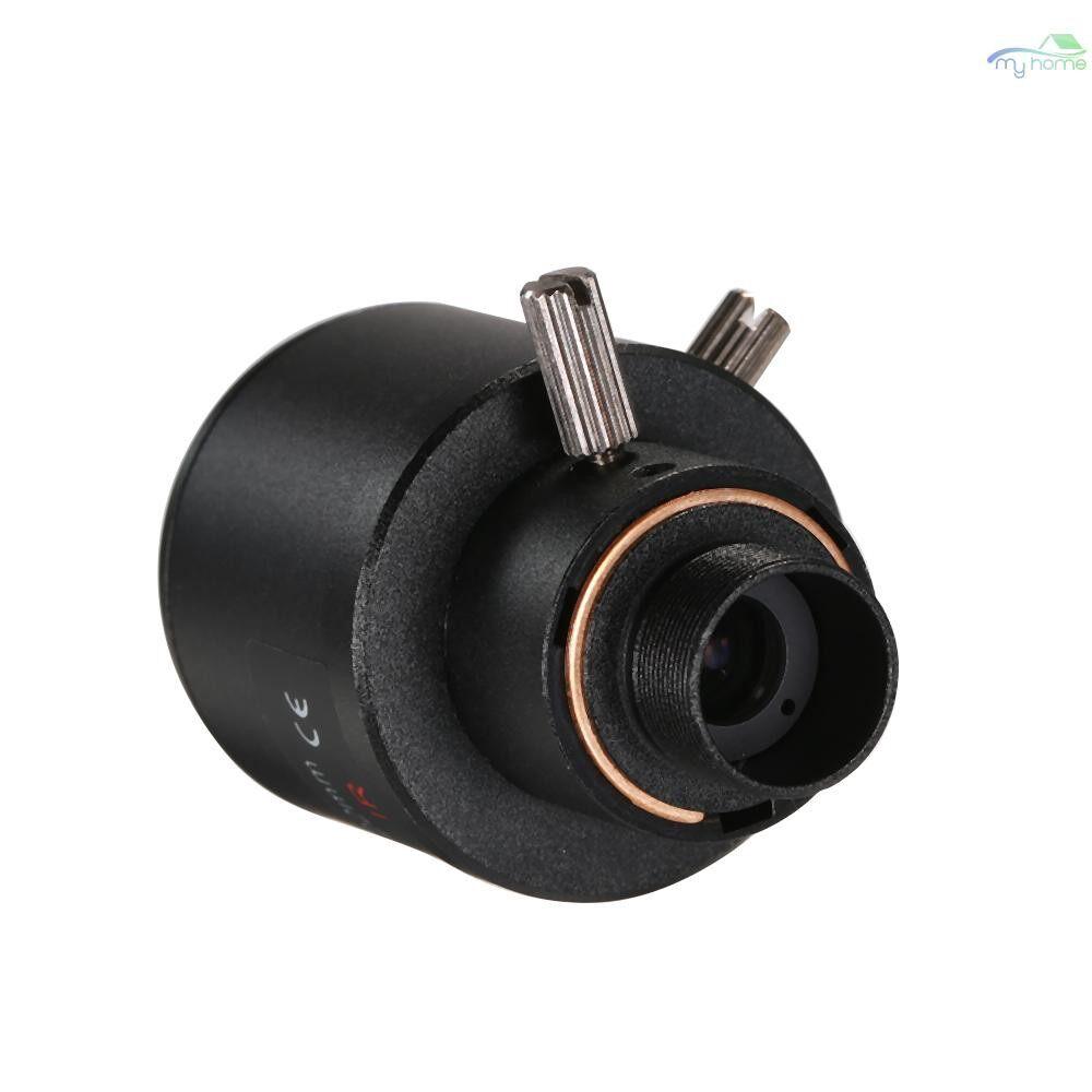 CCTV Security Cameras - 5.0 Megapixel Varifocal 6-22mm CCTV Camera Lens Manual Focus Zoom 1/2.5 Lens CCTV MTV IR Lens For - BLACK