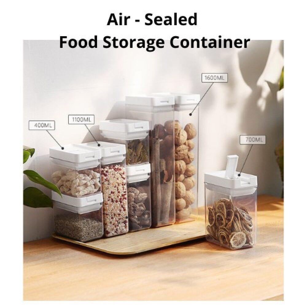 [ Ready Stocks ] Kitchen Food Storage Airtight Food Storage Container Kitchen Storage Organizers