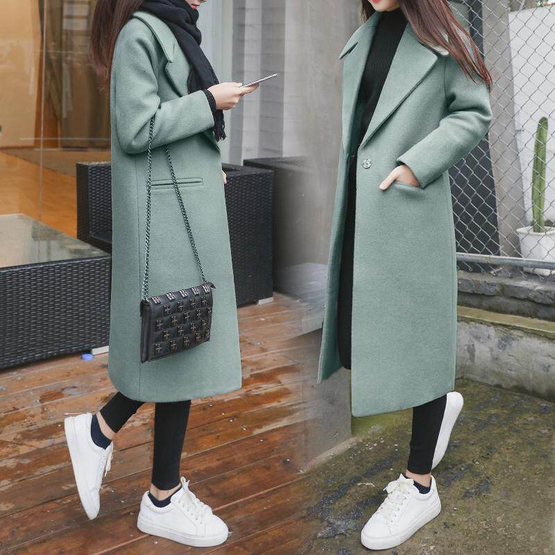 (Pre Order14 Days JYS Fashion Korean Style Women Winter CoatCollection522-4096col522-4096--Green-S