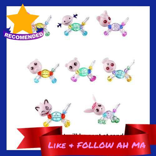 Best Selling DIY Magical Animal Transformable Hand Chain Kids Surprise Collectible Bracelet Adorable Pet DIY Beaded Bracelet (Standard)