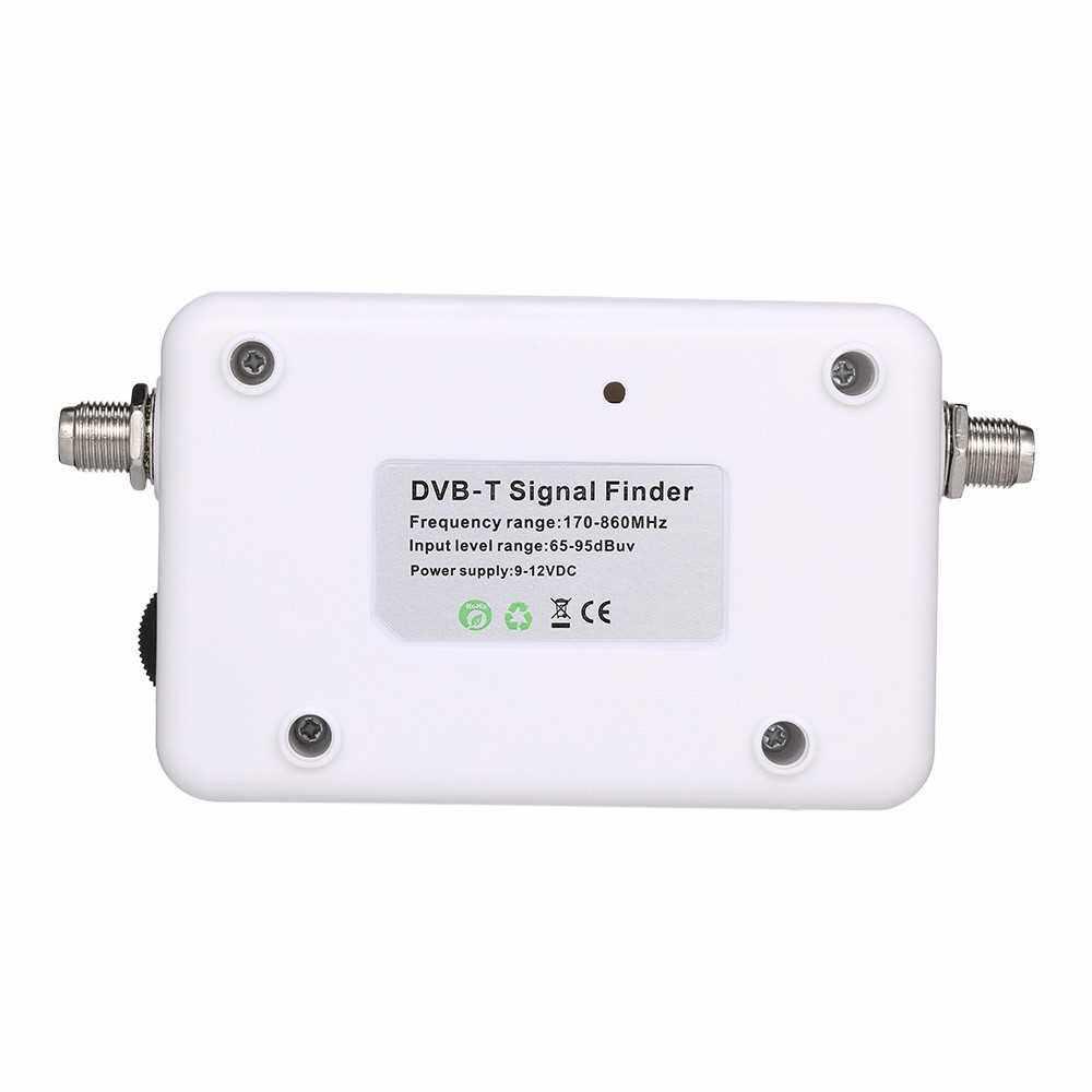 SF-007W Satellite Signal Finder DVB-T Digital Signal Finder TV Receiver with Compass Pointer (Standard)