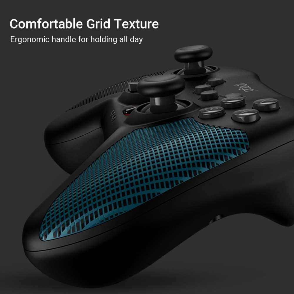 Best Selling iPega PG-SW020 Gamepad Six-axis Wireless Game Controller with Dual Shock Motors Joystick Triggers Compatible with N-Switch/Android Devices/PS3/PC Windows 7/8/10 (Black)