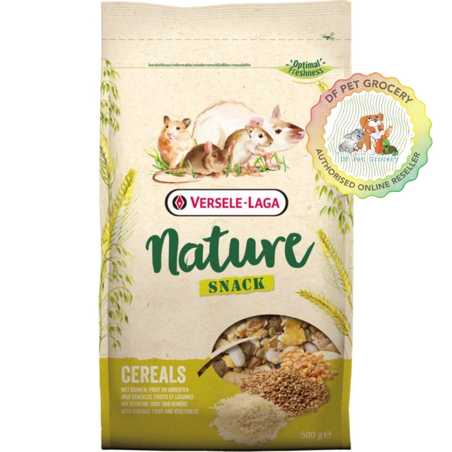 Versele Laga Snack Nature - Cereals 500G(Rabbit,Guinea Pig,Hamster)
