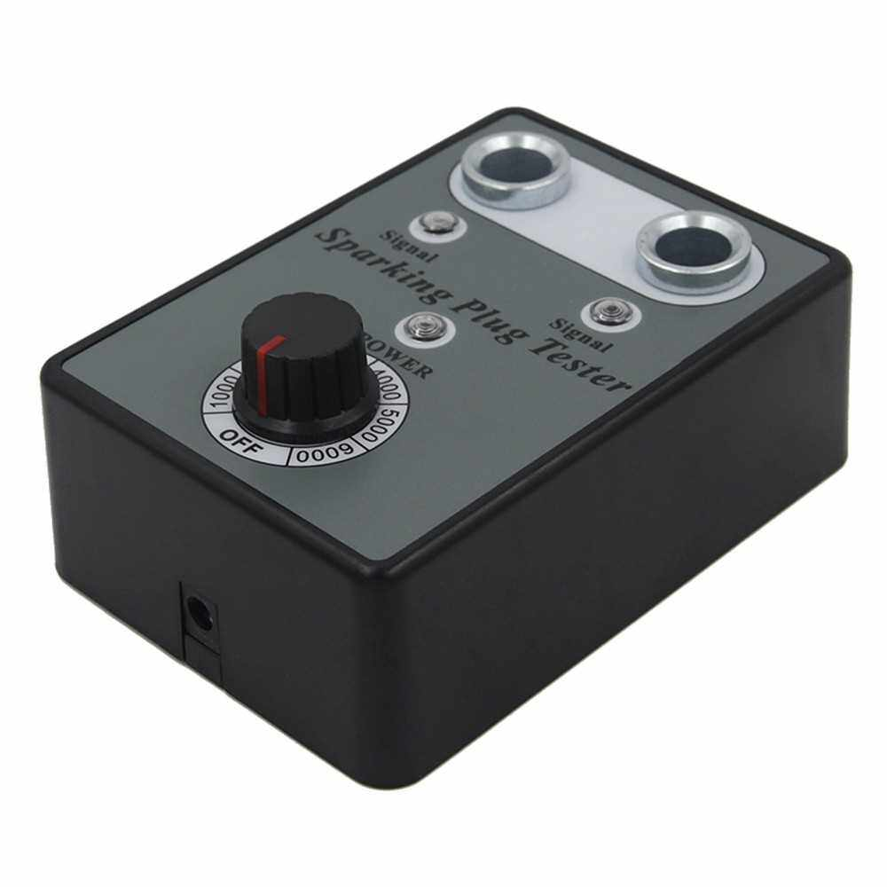 Best Selling Car Spark Plug Tester with Adjustable Double Hole Detector Ignition Plug Analyzer (Uk)