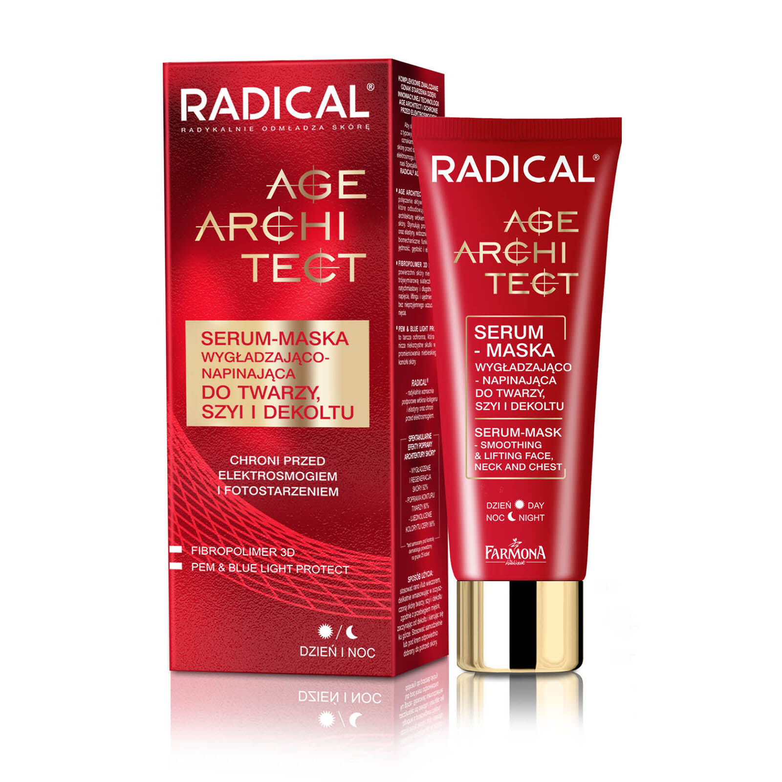 RADICAL AGE ARCHITECT Serum-Mask Smoothing And Lifting Face, Neck And Cleavage