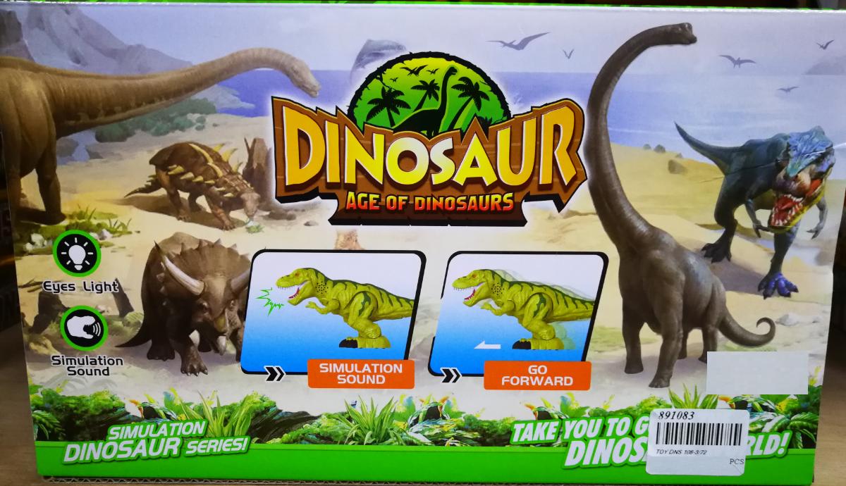Dinosaur Age Of Dinosaurs World Toys Set For Kids