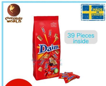 Daim Chocolate 39 Minis Travel Pack 280g EXP: Aug2020 (Made in Sweden)