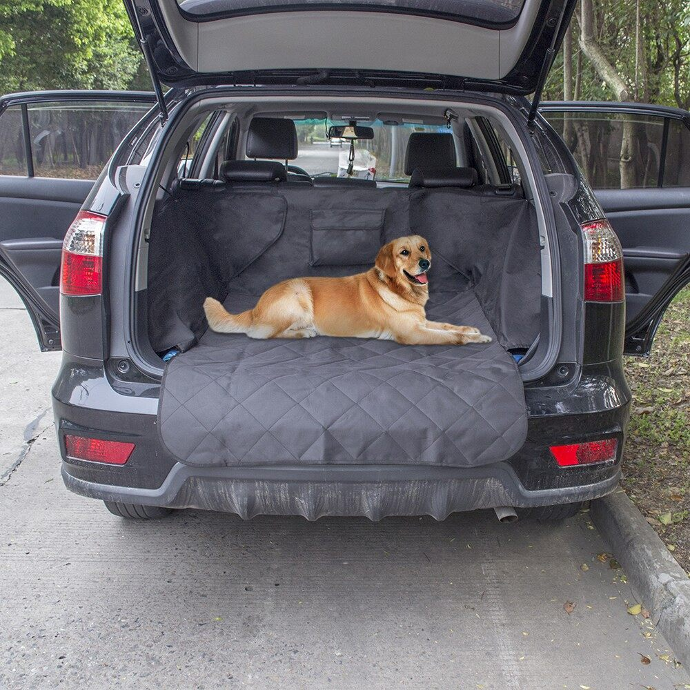 Windscreen Wipers & Windows - Non-slip Waterproof Dog Cargo Liner Safety Hammock Pet Car Backseat Cover - Car Replacement Parts