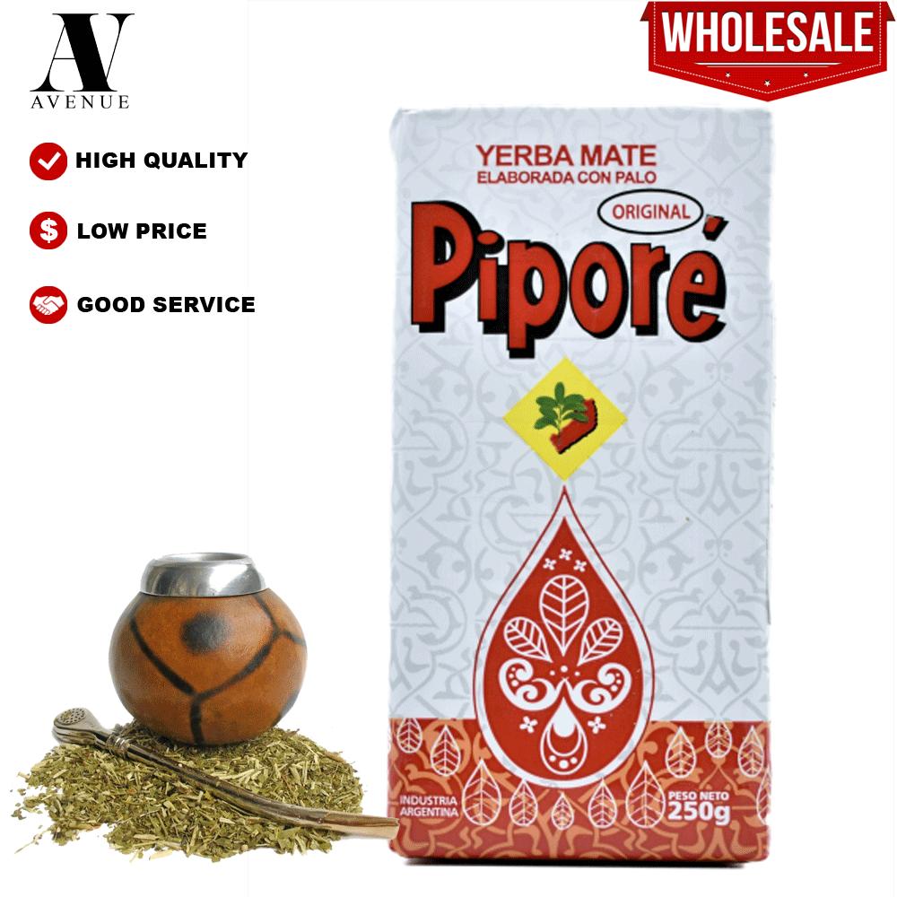 Pipore Yerba Mate Original White 250g  بيبوري جيبرا مته ممتازة الأصلية أبيض