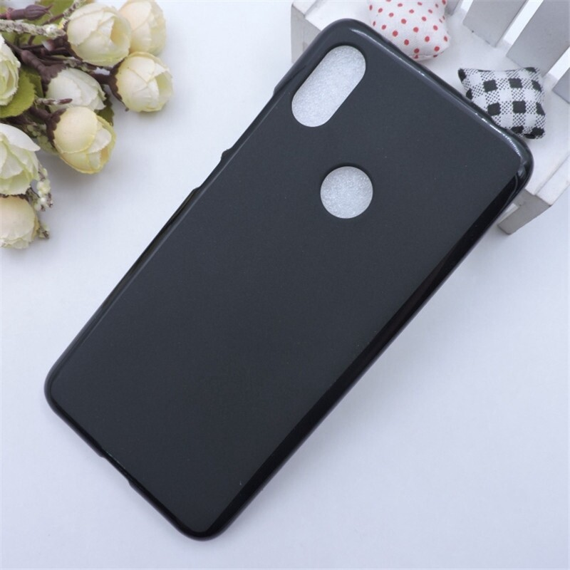 iPh Soft Cover - Matte Shockproof Soft TPU Back Cover Protective Case for Xiaomi Redmi S2 - BLACK / GREY / WHITE