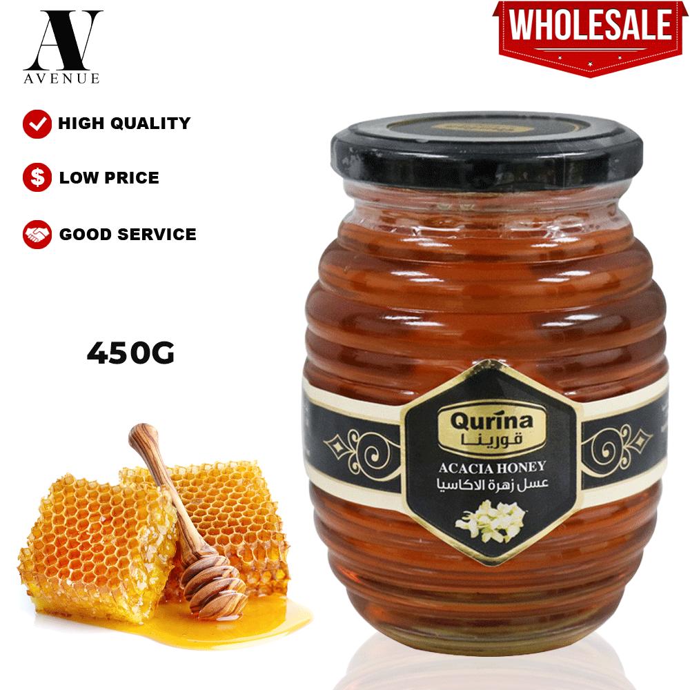 Qurina Acacia Honey 450g قورينا عسل زهرة الأكاسيا