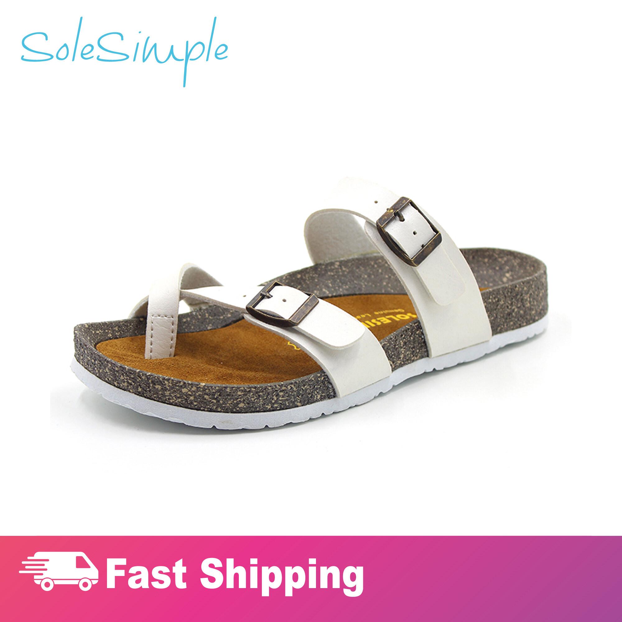 SoleSimple Dublin - White / Sandal