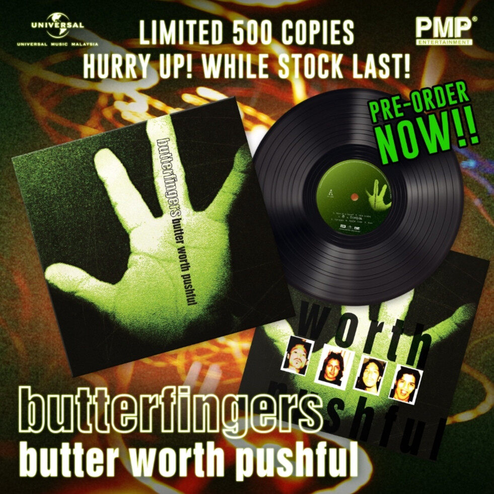 Butterfingers - Butter Worth Pushful Vinyl LP Limited Stock