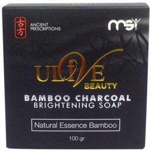 MSI Bamboo charcoal brightening soap 100gr