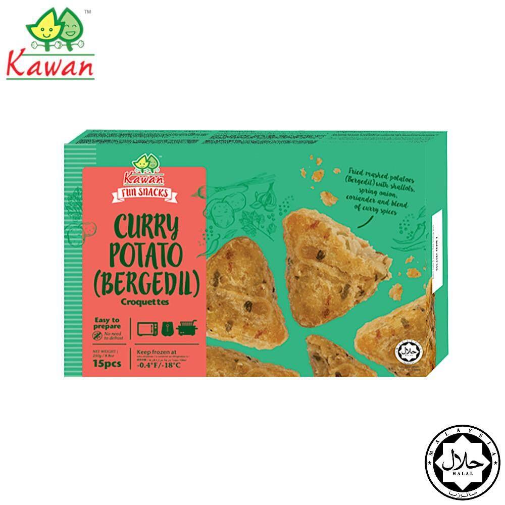 KAWAN Curry Potato (Bergedil) Croquette (15 pcs - 250g)