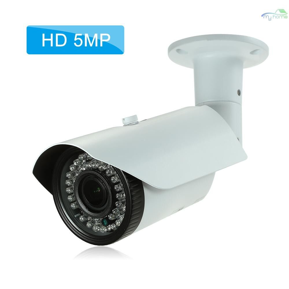 CCTV Security Cameras - 5MP ( 4MP/1520P/1440P/1080P) Camera HD Bullet POE IP Camera 2.812mm Manual Zoom Varifocal Focus - #