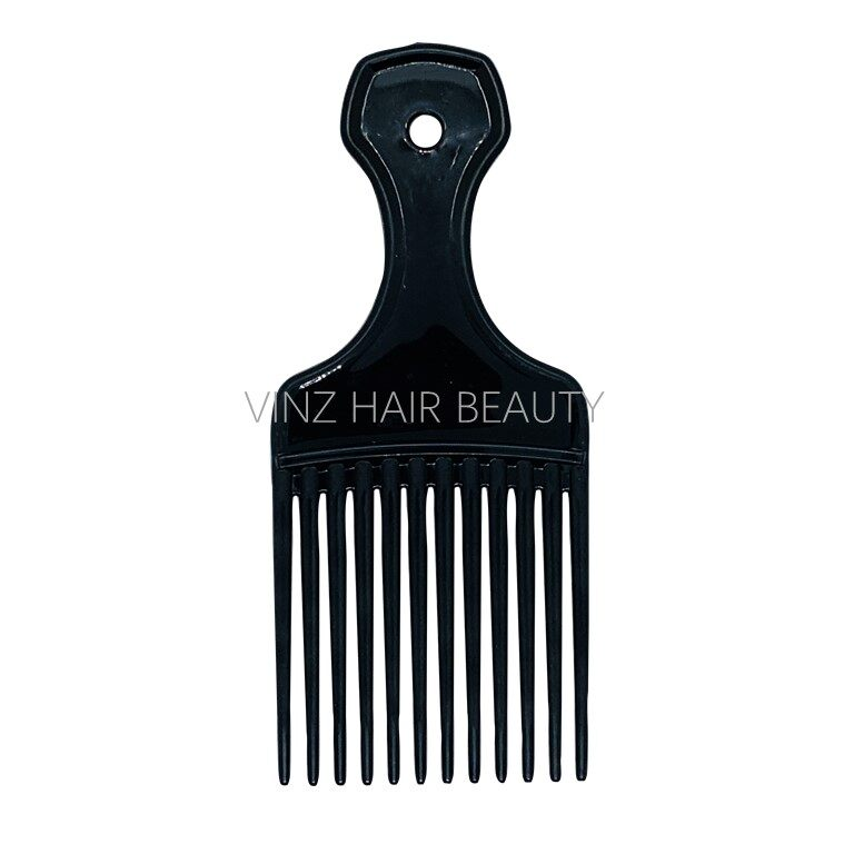 Hairdressing Anti Static Pick Comb (Random Color)