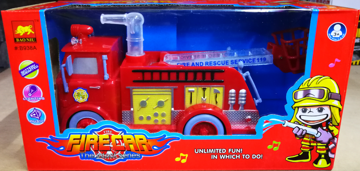 Kids Toy - Fire Car Rescue Service Model Vehicles Car baby toys