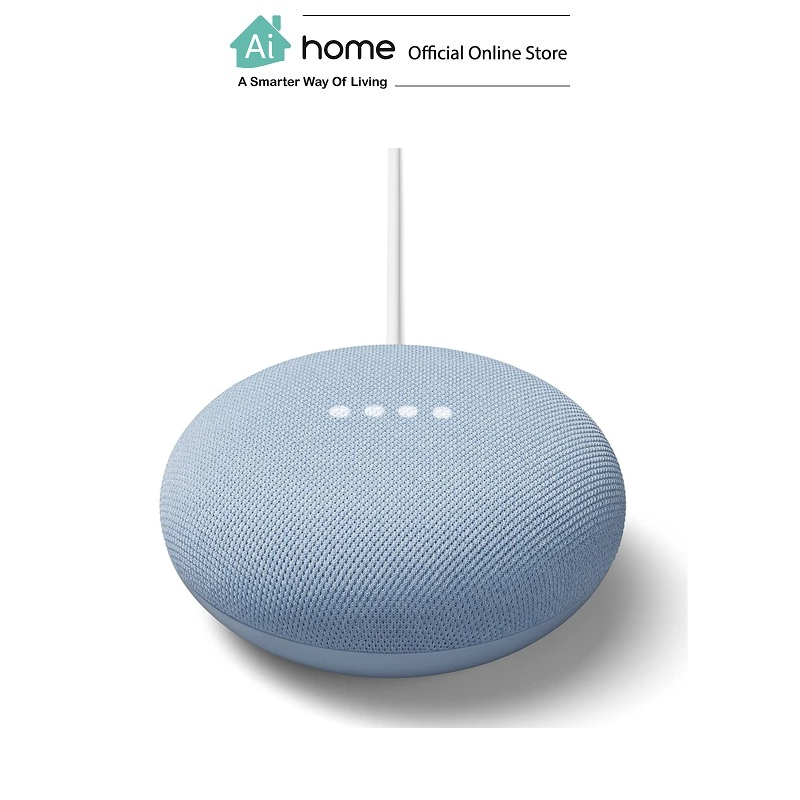 GOOGLE NEST Mini 2nd Generation [ Smart Speaker ] Build in Google Assistant with 1 Year Malaysia Warranty [ Ai Home ] GN2S
