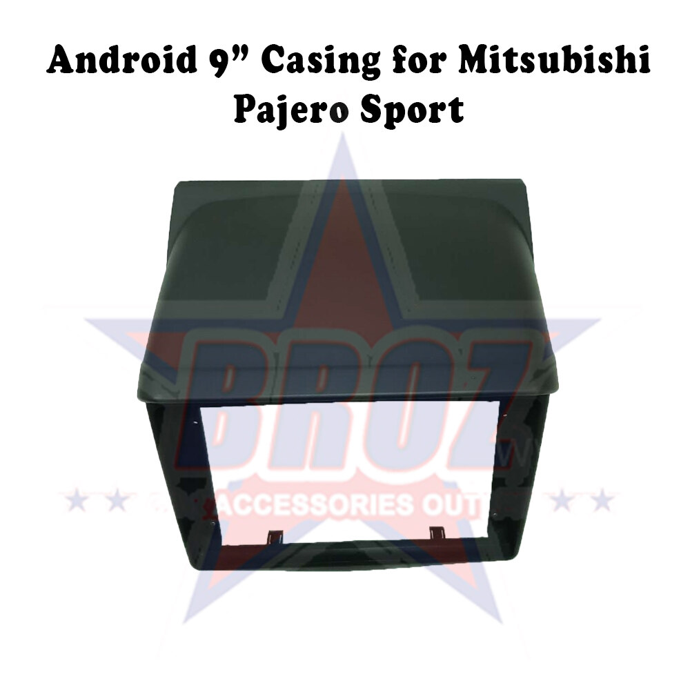 9 inches Car Android Player Casing for Mitsubishi Pajero Sport