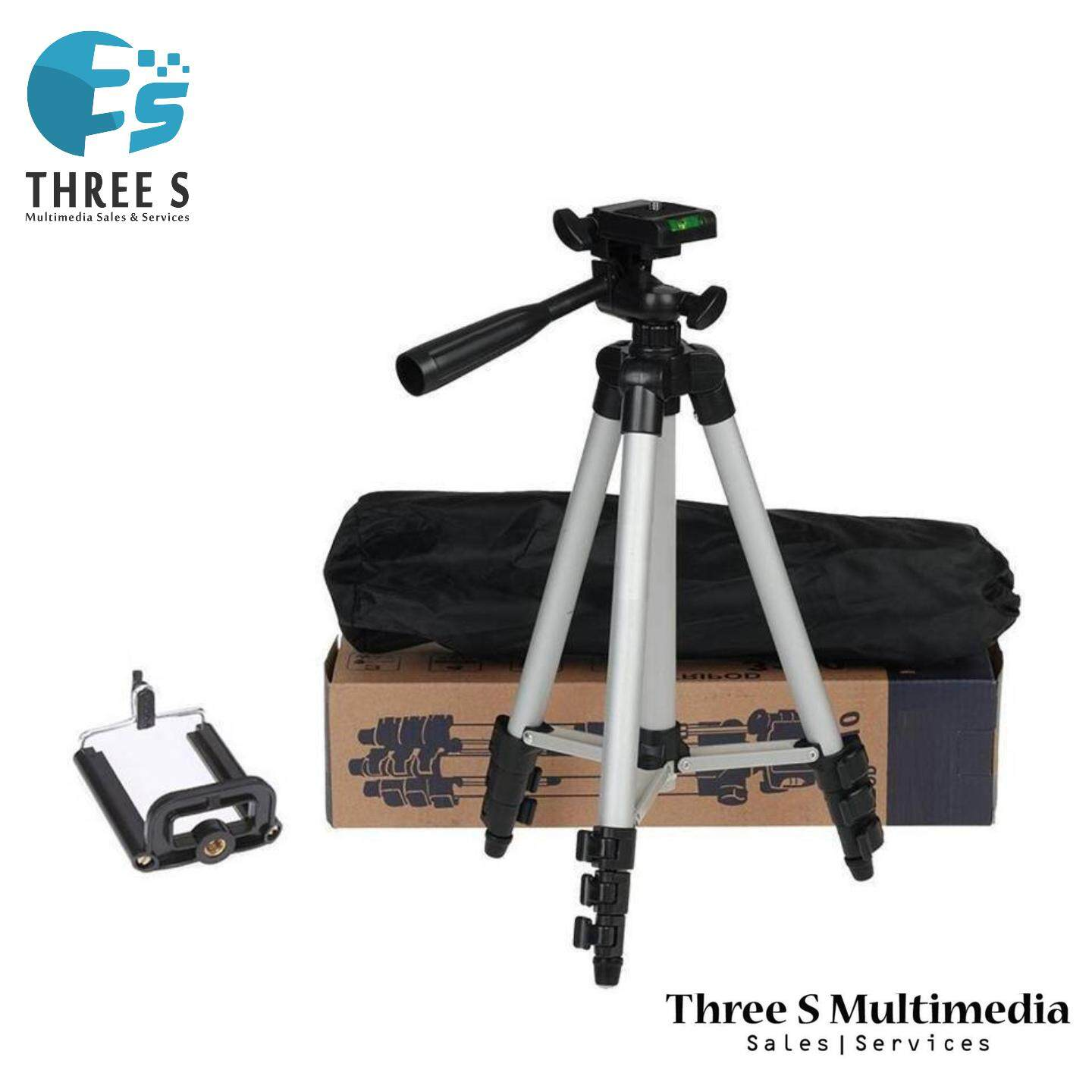 Tripod-3110 Lightweight Camera Stand With Three-Dimensional Head