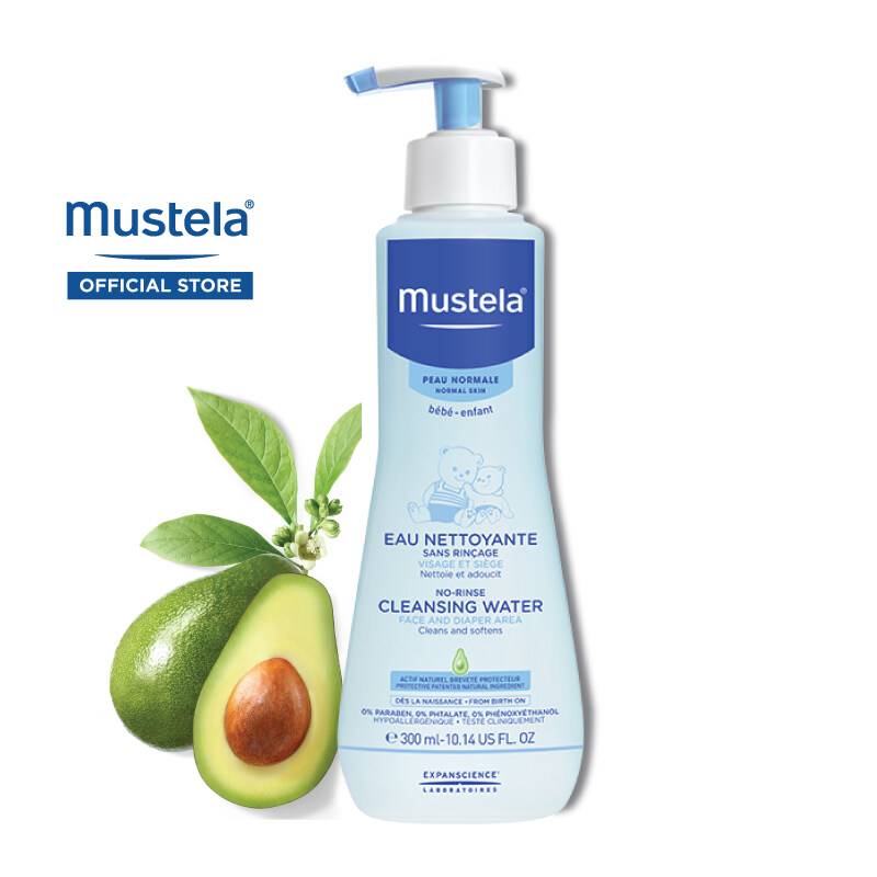 MUSTELA No-Rinse Cleansing Water for Normal Skin (300ml)