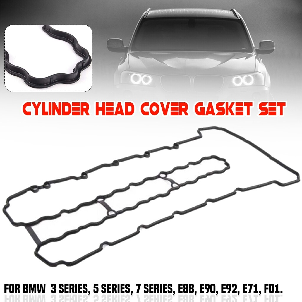Automotive Tools & Equipment - Cylinder Valve Cover Gasket Fits For 3 5/7 series E88 E90 E71 F01 # 11127565286 - Car Replacement Parts