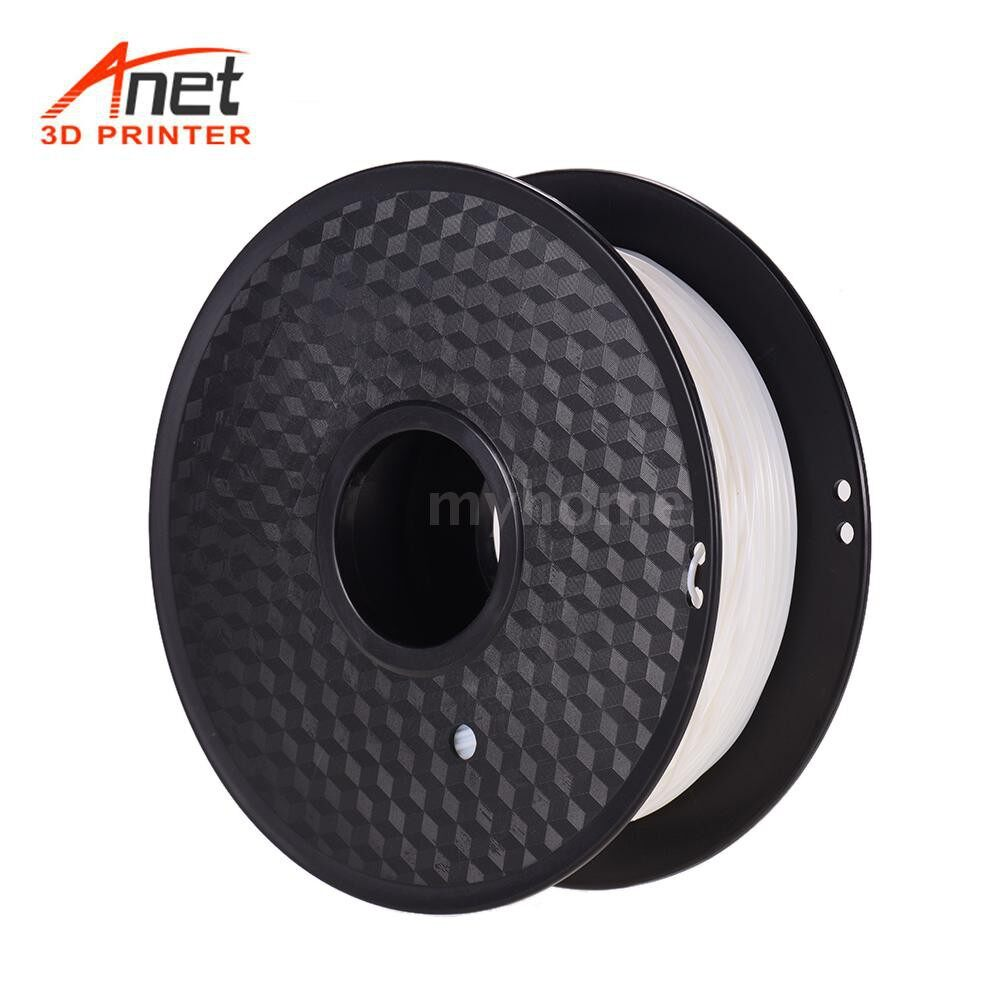 Printers & Projectors - Anet Flexible TPU 3D Printing Filament 1.75mm 800g Spool Dimensional Accuracy +/-0.02mm for - WHITE
